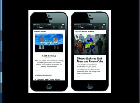 nytimes mobile two tempos rhythms for storytelling in the digital