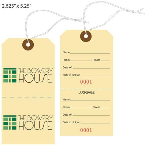 custom printed baggage luggage tags hotel tags st