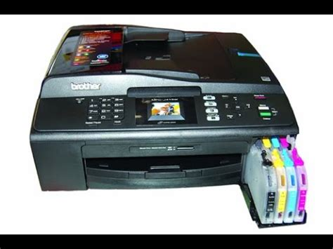 reset printer brother j430w cara masuk maintenance mode brother mfc j3520 doovi