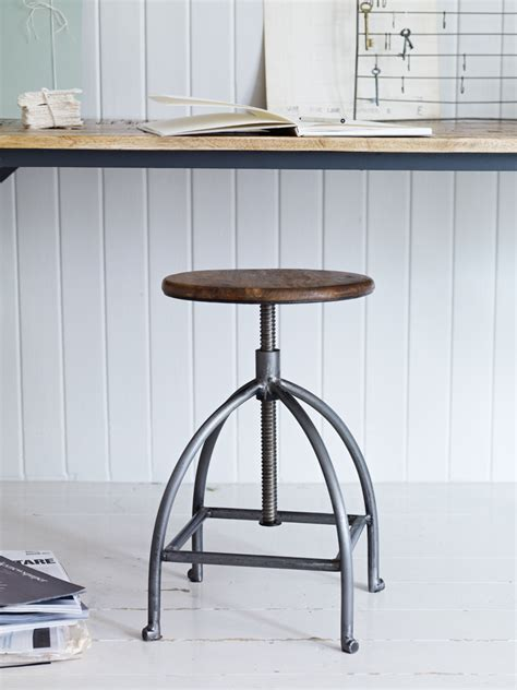 Has Stool by Objects Of Design 17 Industrial Twist Stool Mad About