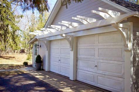 garage door pergola the impatient gardener how to build a garage pergola