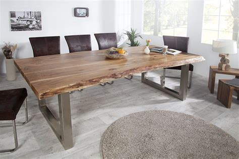 Table A Manger Bois Brut by Table Salle A Manger Bois Brut Tres Grande Table Salle A
