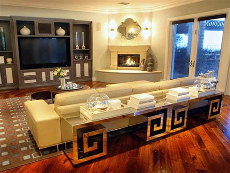 living room with sectional sofa and corner fireplace add contemporary living space photos hgtv