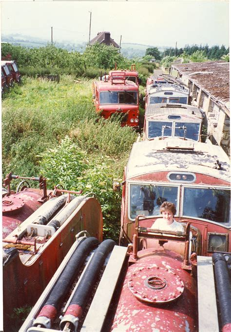 fire engines  dennis  ulster graveyard