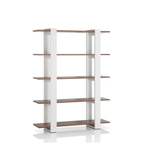 furniture of america terra boxed walnut display bookcase furniture of america colens white bookcase ynj 828 the