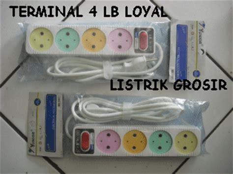 Stop Kontak Multi Tap 4lb Loyal bukan grosir listrik alat listrik saklar listrik switch lu