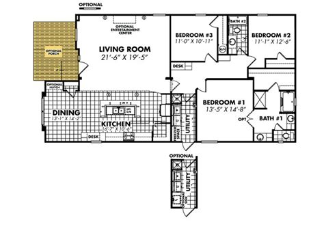 legacy mobile home floor plans heritage 3256x64 32a by legacy mobile home sales