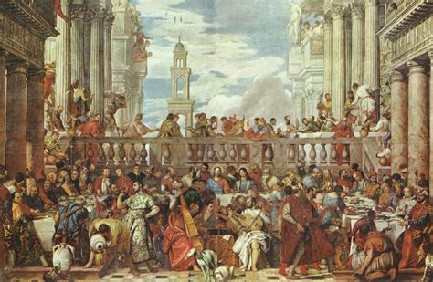 Hochzeit Zu Kana by Veronese Paolo Hochzeit Zu Kana 2 Zeno Org