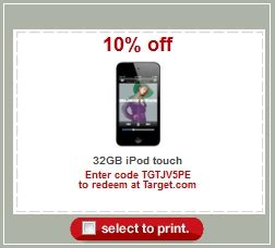 Target Sells Discounted Pre Owned Colorware Ipods by Big Easter Savings At Target 15 Itunes Cards 10
