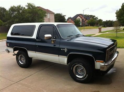 how to work on cars 1995 chevrolet k5 blazer electronic valve timing buy used 1986 chevrolet k5 blazer silverado sport utility 2 door 5 0l in burleson texas united