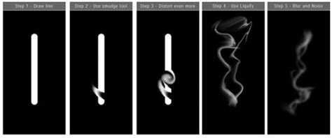 tutorial illustrator smoke realistic smoke effect photoshop tutorials hongkiat