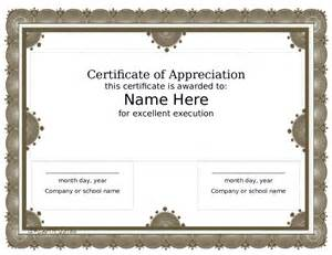 Formal Award Certificate Template by Doc 1040729 Award Certificate Template Formal Award