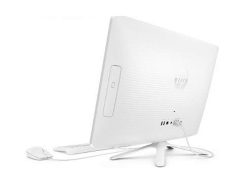 HP White All In One Desktop Computer   HP 24 G016