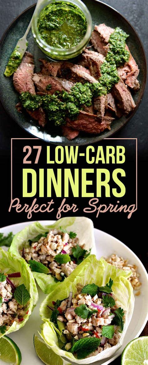low dinner 27 low carb dinners that are great for
