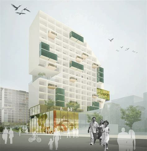 affordable housing design hassell project shenzhen affordable housing design competition