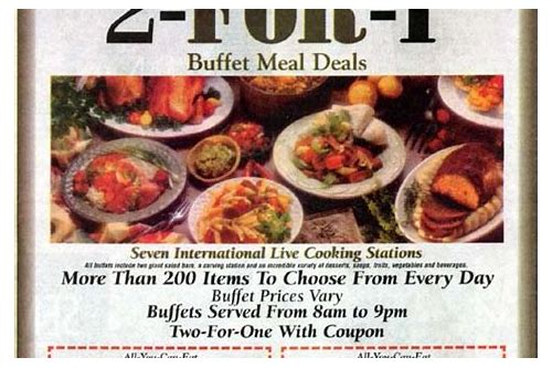 las vegas food coupons free
