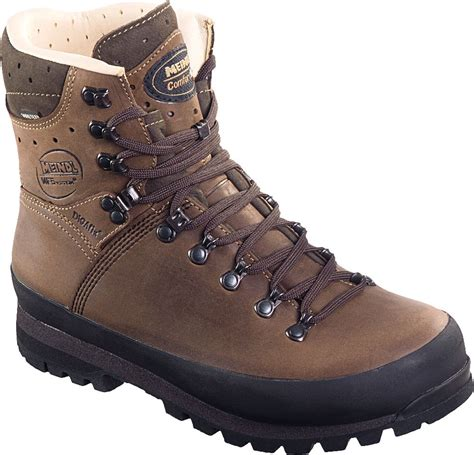 meindl mens guffert gtx wide fit walking boots brown