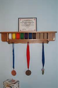 woodworking plans to build a karate belt display rack