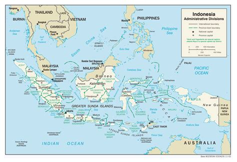 major map maps of indonesia detailed map of indonesia in