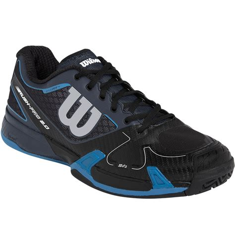 wilson tennis shoes wilson pro 2 0 s tennis shoe coal black