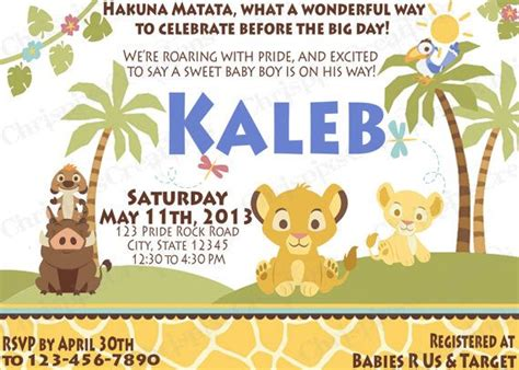 King Shower Invitations by King Baby Shower Invitation Print At By