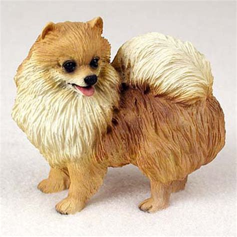 pomeranian review pomeranian painted collectible figurine