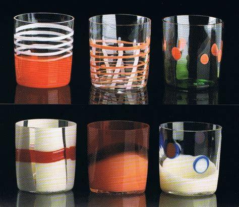 bicchieri moderni 13 carlo bicchieri whisky colorati murano