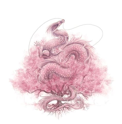 dragon tattoo with cherry blossom 196 best images about dragon morados y rosas on pinterest