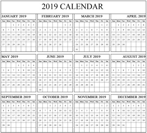 free 2018 printable calendar 2018 ms word template templates at