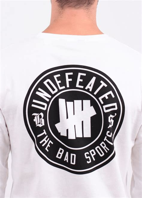 Kaos Undefeated Undefeated Tees Undefeated Tshirt Undefeated 1 undftd bs sleeve white