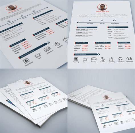 Web And Graphic Designer Resume Free Psd Print Ready Download Download Psd Graphic Design Resources Templates