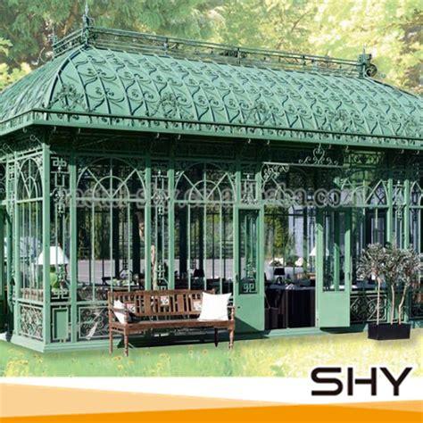 pavillon 2x2m metall dekorative antike metall pavillon im freien gusseisen