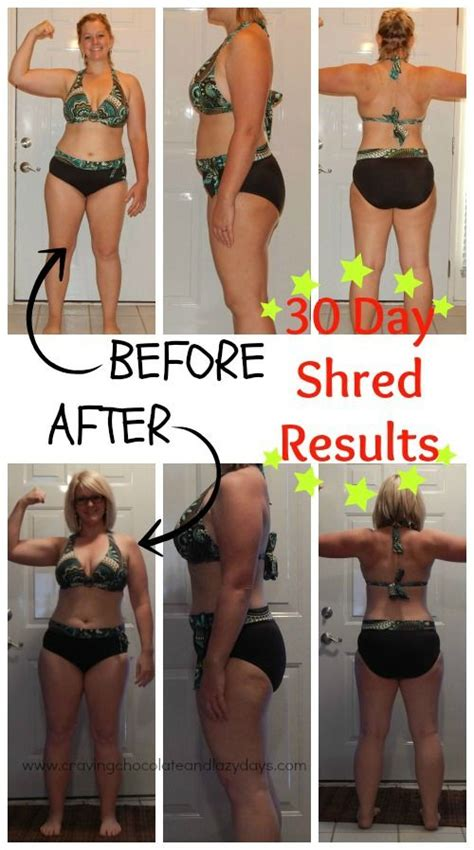 Jillian Detox Results by 25 Best Ideas About 30 Day Shred Results On