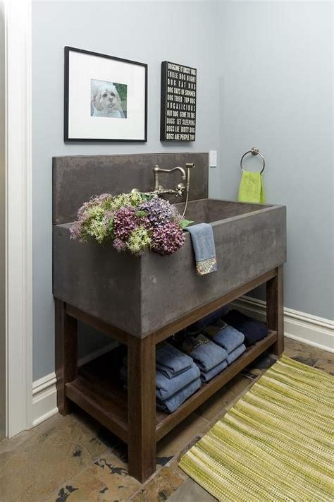 cement laundry sink best 25 concrete sink ideas on concrete
