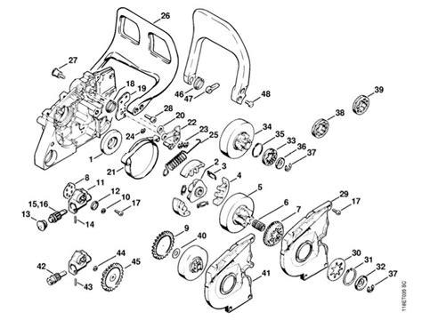 stihl ms200t parts diagram 028 av stihl chainsaw parts diagram search results