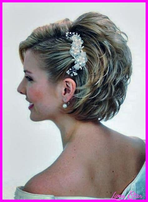 hairstyles for mother of the bride mother of the bride short hairstyles livesstar com