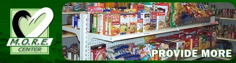 Food Pantry Requirements by Food Retention Guidelines M O R E