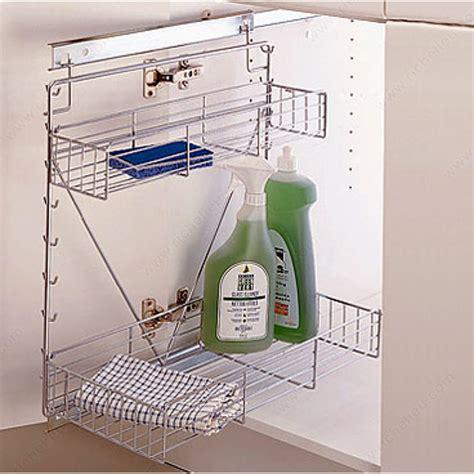 Sliding Baskets For Kitchen Cabinets Sliding Chrome Wire Basket System For Base Cabinets Richelieu Hardware