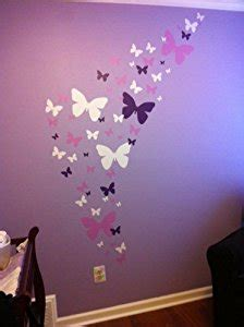 butterfly wall stickers for bedrooms butterfly wall decals lavendar lilac white matte