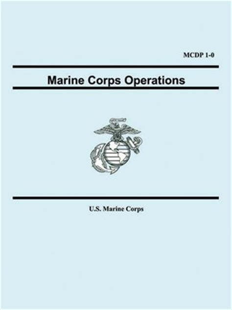 Mcdp 1 Warfighting Book Report by Marine Corps Operations Mcdp 1 0 By U S Marine Corps 183 Overdrive Ebooks Audiobooks And