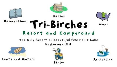 tri birches resort home page