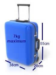 luggage requirements