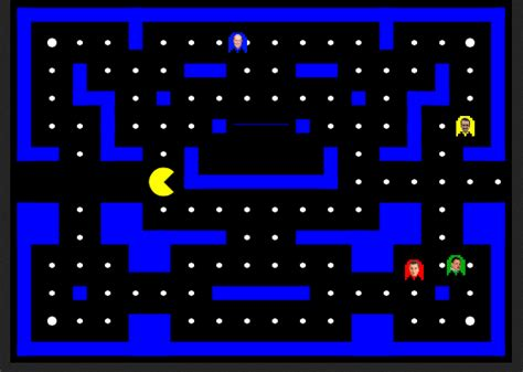 pacman time wasted waste time today this awesome politically inspired