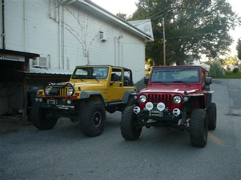 jeep highline fenders tj front fenders metal cloak vs high line s nc4x4
