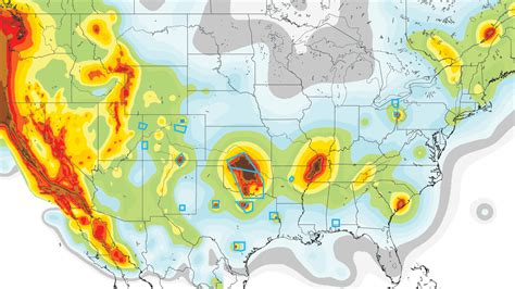 seismic map usa heartland danger zones emerge on new u s earthquake