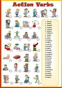 verbs matching activity