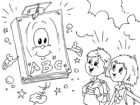 escuela lecturas infantiles dibujos para colorear y pintar dibujo para colorear libro escolar img 22707