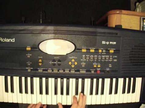 tutorial organ keyboard beginner lesson learn red river valley on organ piano