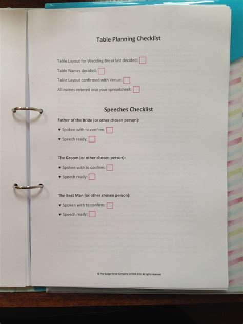 Wedding Budget Guidance by Wedding Planner Folder Packs The Budget Company