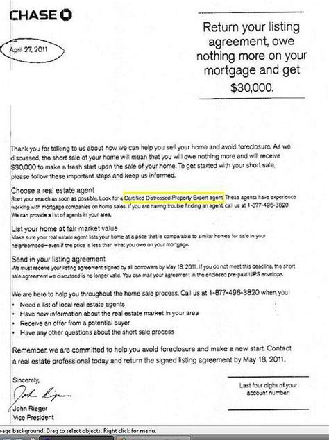 Closing Letter For Estate Bank Sale Incentive Letter Rock Realty